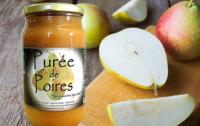 Purée de poire - Les Paniers Davoine