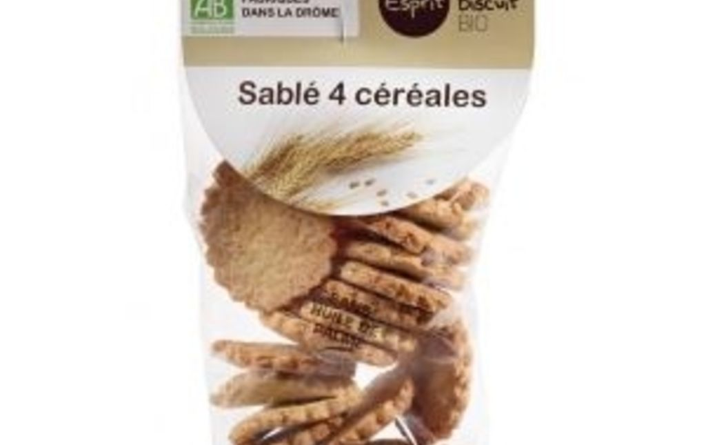 Sablés 4 céréales bio - Les Paniers Davoine