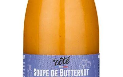Soupe de butternut noisette coriandre