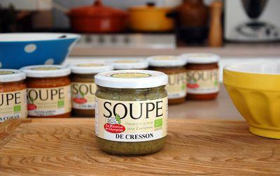 Soupe bio de cresson