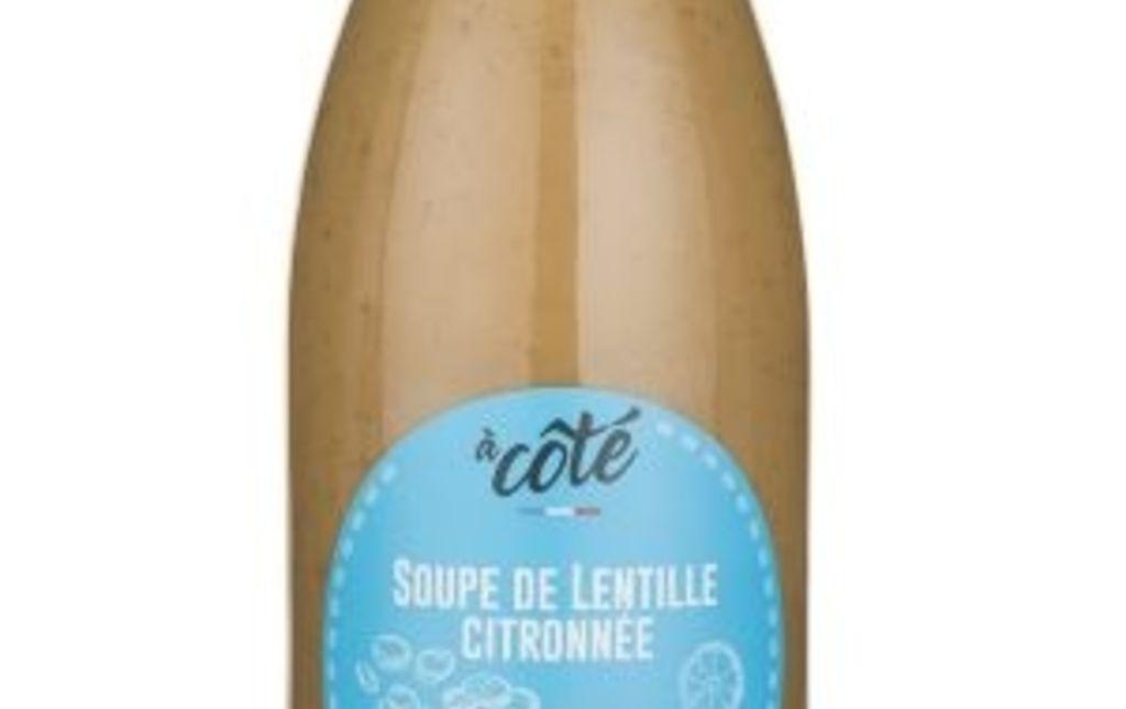 soupe lentille citronnée les paniers davoine provence var bio fruit legume