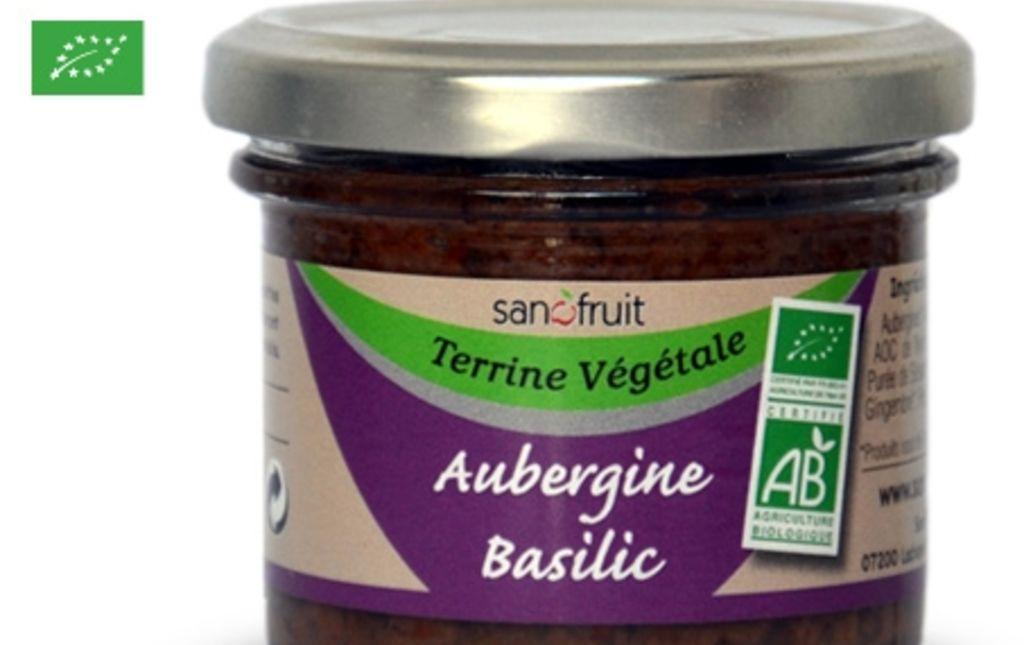 Tartinade Aubergine Basilic