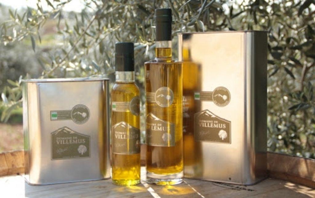huile olive bio de Provence Les Paniers Davoine