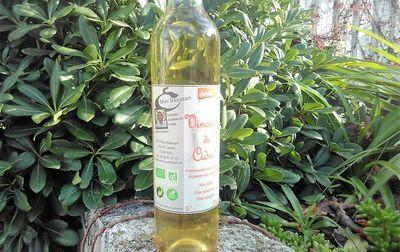 Vinaigre de cidre à la truffe bio 33cl