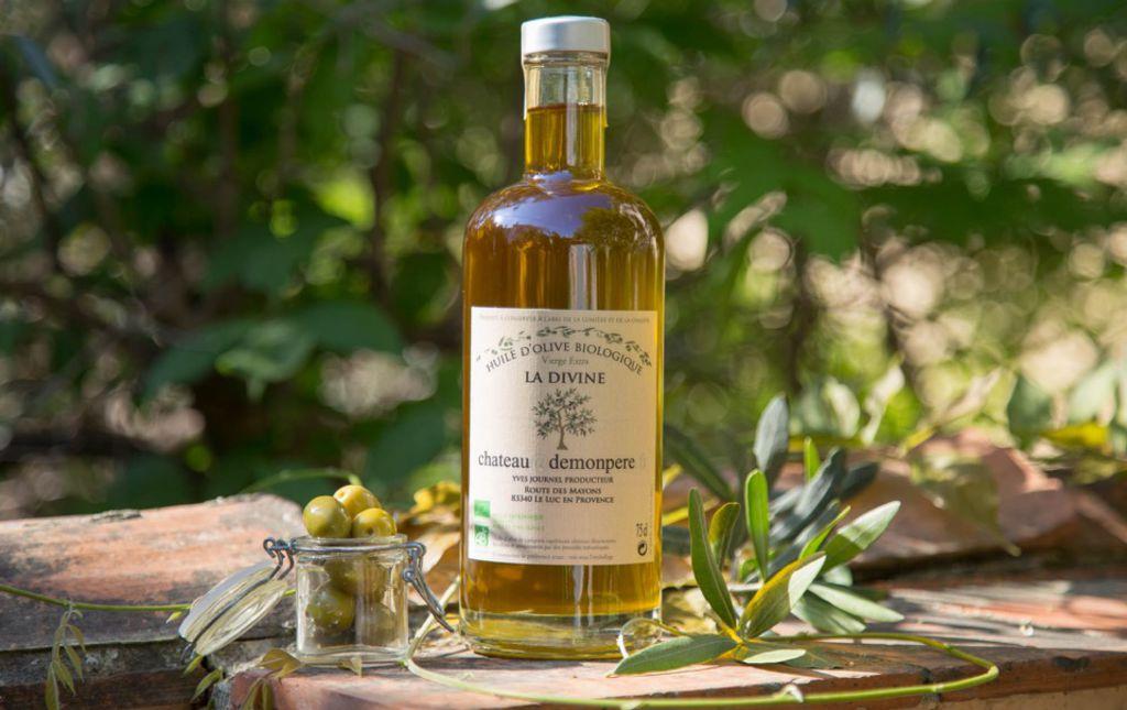 Huile d'olive bio pure variété Picholine