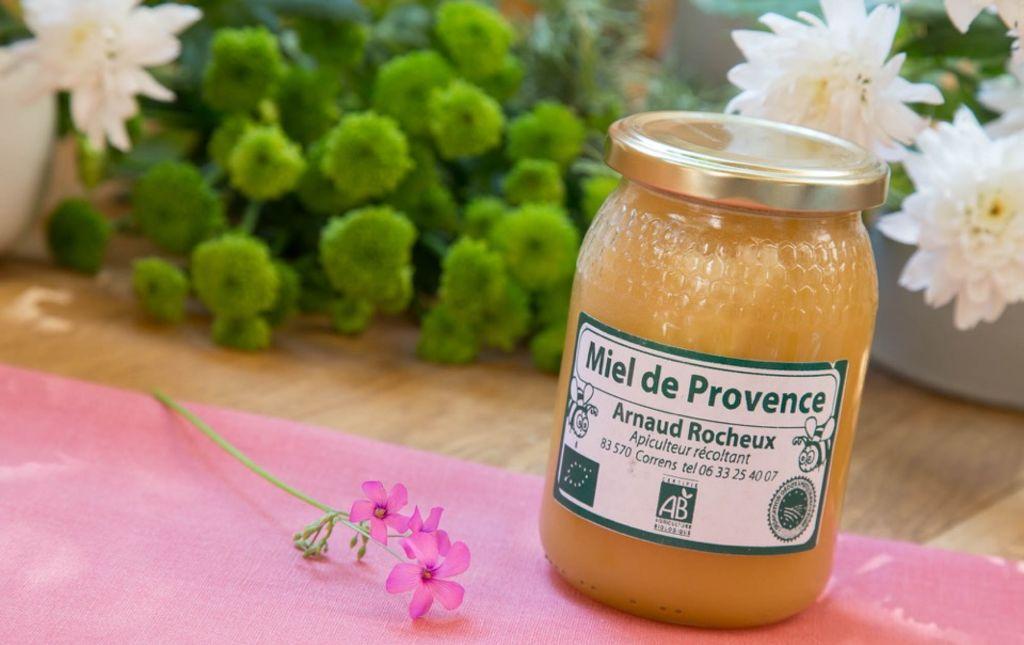 Miel bio de Provence 250g Les Paniers Davoine