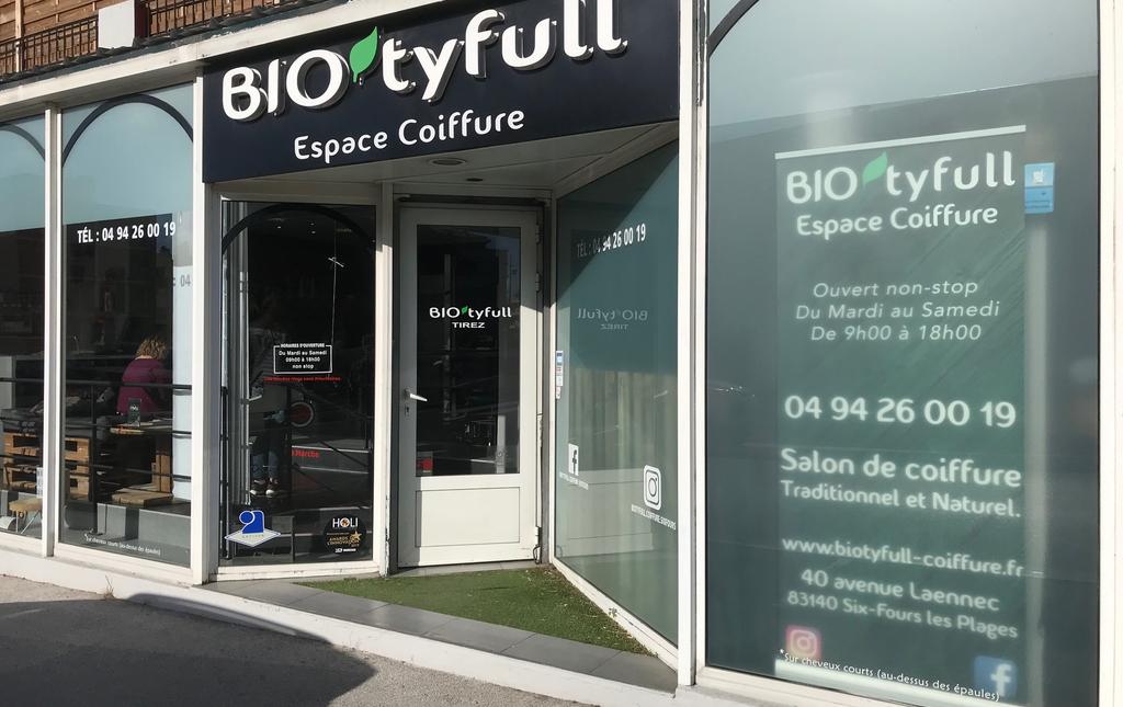 Bio'tyfull espace coiffure