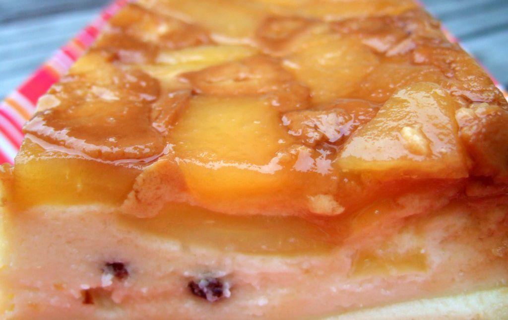 Gateau De Semoule Aux Pommes Caramélisées