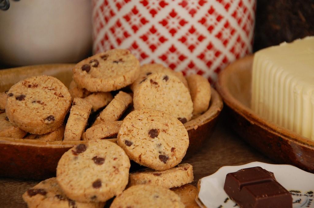 sablés bio pur beurre au pépite de chocolat fabrication artisanale dans le Var